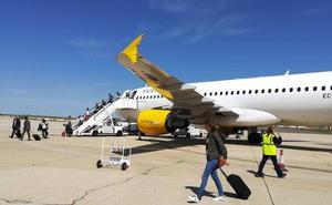 Los viajeros de los aeropuertos de Castilla y León aumentan un 10,4% este año