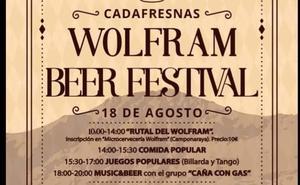 Cadafresnas celebra el domingo la segunda edición del 'Wolfram Beer Festival'
