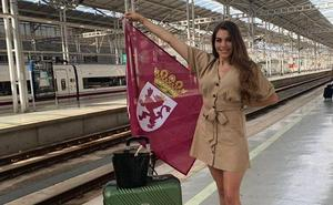 Claudia Blanco representa a León en el certamen de Miss World Spain