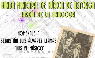 Sebastián Llamas será homenajeado por la Banda Municipal de Música de Astorga el 15 de agosto