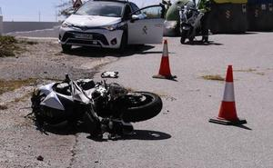 El 13% de los fallecidos en accidentes de tráfico en Castilla y León es motorista
