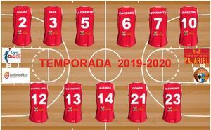 Embutidos Pajariel Bembibre desvela los dorsales para la temporada 2019-2020