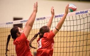 Dos jugadoras de AULE consiguen la medalla de bronce en el Voleyplaza de Soria