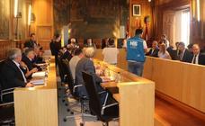 Pleno de Organización en la Diputación de León
