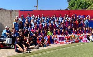 La Peña Leonesa FCB destaca en el Torneo Peñas FCB Joan Gamper 2019