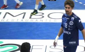 El Abanca Ademar aprueba por la mínima en la derrota contra el Nantes