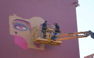 La Bañeza, la ciudad del arte urbano, disfruta del VII Festival Internacional Art Aero Rap