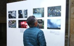 'León Press Photo' hace parada en el Museo Ferroviario de Cistierna