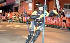 Sven Ortel y Manuela Schmohl brillan en la jornada nocturna de slalom paralelo en Villablino
