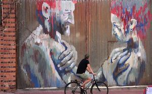 La Bañeza se consolida como escaparate internacional de arte urbano