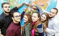 León acoge en verano a 400 estudiantes, en su mayoría de Estados Unidos, en los cursos de idiomas de la ULE