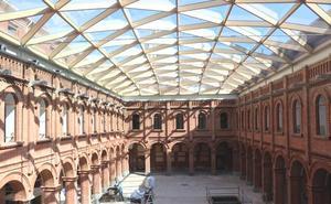El Museo de la Semana Santa afronta el 10% final de la obra con la cúpula ya acristalada