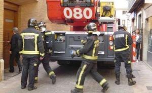 Un incendio en León capital calcina una casa deshabitada
