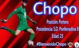 'Chopo' refuerza la portería del Atlético Bembibre