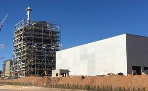 Las obras de la planta de Forestalia en el polígono de El Bayo están ya a más del 80%
