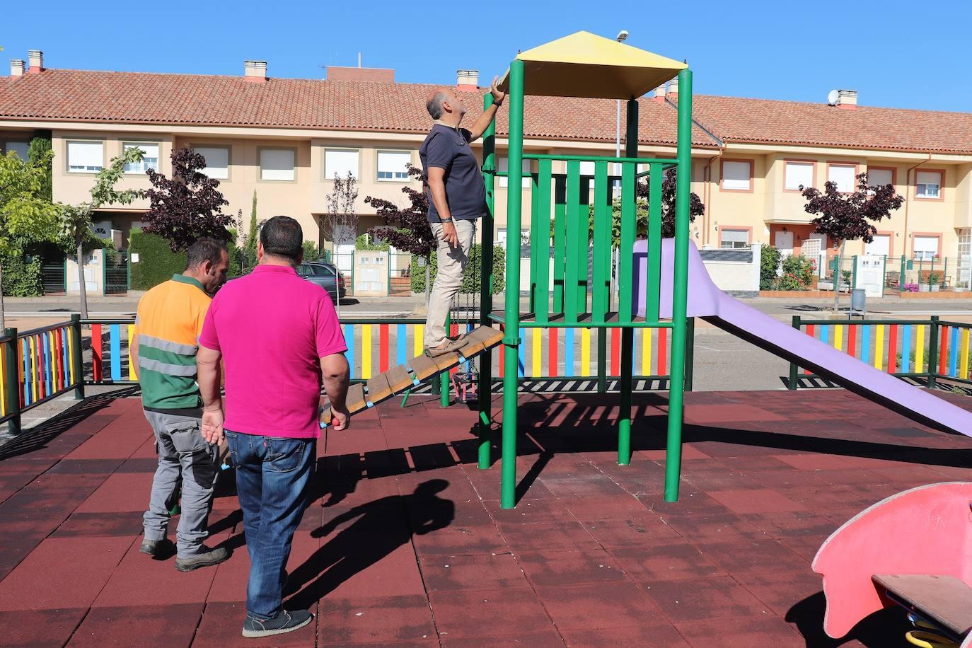 El Gobierno de Villaquilambre pone en marcha la mejora de los parques del municipio