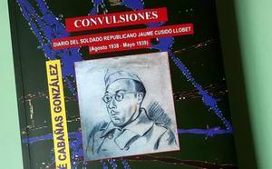 El escritor José Cabañas presenta en La Bañeza su libro 'Diario del soldado republicano Jaume Cusidó'