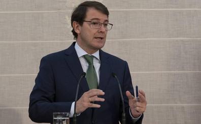 Mañueco señala que el uso del apartamento de las Cortes es una «decisión personal» de Fuentes y comparte las palabras de Igea