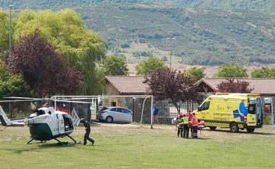 La Guardia Civil rescata a un cazador herido en una pierna en Oseja de Sajambre