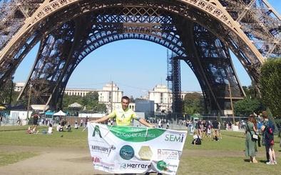Salva Palomo da presencia al Ciudad de Astorga en la París-Brest-París