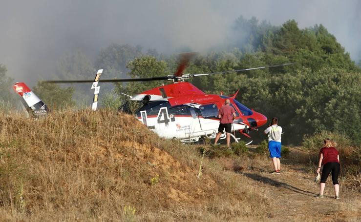 Incendio en Villapadierna