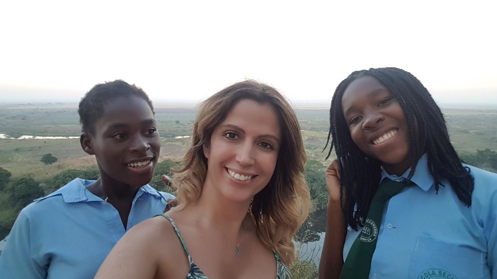Cooperación internacional realizada en Manhiça (Mozambique) el mes de julio
