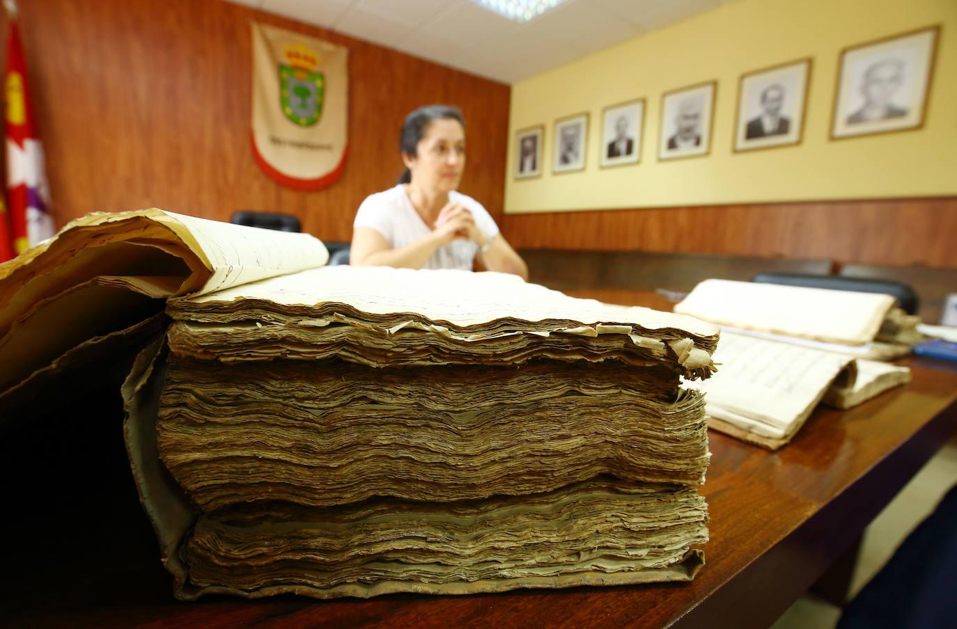 Digitalización de documentos históricos en Castropodame