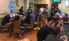 Desmantelan en Madrid un club clandestino para la celebración de torneos ilegales de póker