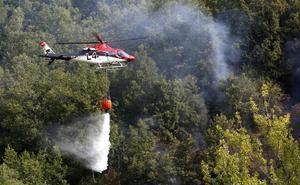 Las tormentas eléctricas provocan cinco incendios sin grandes consecuencias en la provincia