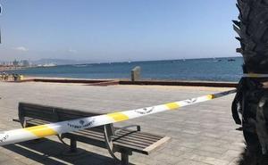 Desalojan y cierran una playa de Barcelona por una bomba de la Guerra Civil hallada en el mar