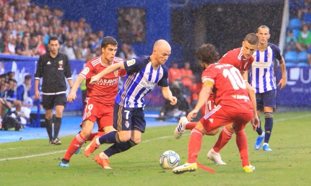 La Deportiva empata ante el Zaragoza