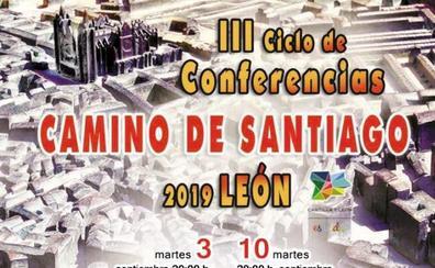 Anselmo Reguera abre el III Ciclo de Conferencias Camino de Santiago de León