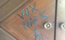 Vox denuncia un acto de vandalismo contra su sede de León