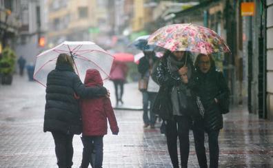 Las tormentas dejan 43 litros por metro cuadrado en algunos puntos de la comunidad