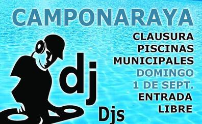 Camponaraya clausura la temporada de piscinas con música y actividades lúdicas