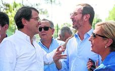 Igea acusa a Tudanca de «chantajear a los ciudadanos» con las entregas a cuenta