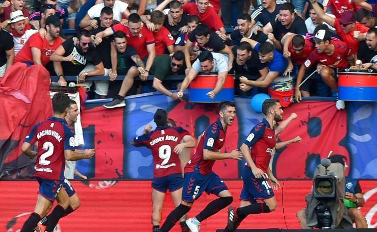 Osasuna 2-2 Barcelona, en imágenes
