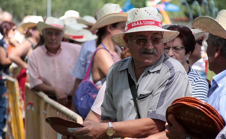 XXXVII edición de la Fiesta campesina organizada por el sindicato agrario Ugal -UPA