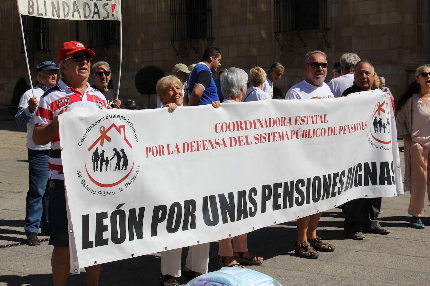 Concentración por las pensiones públicas en Botines