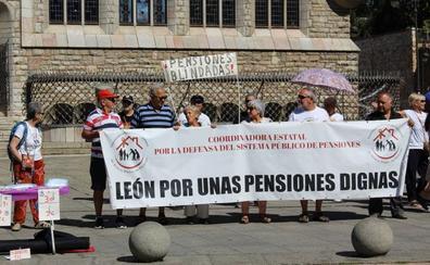 Los pensionistas leoneses temen que una repetición de elecciones «haga más dura la lucha»