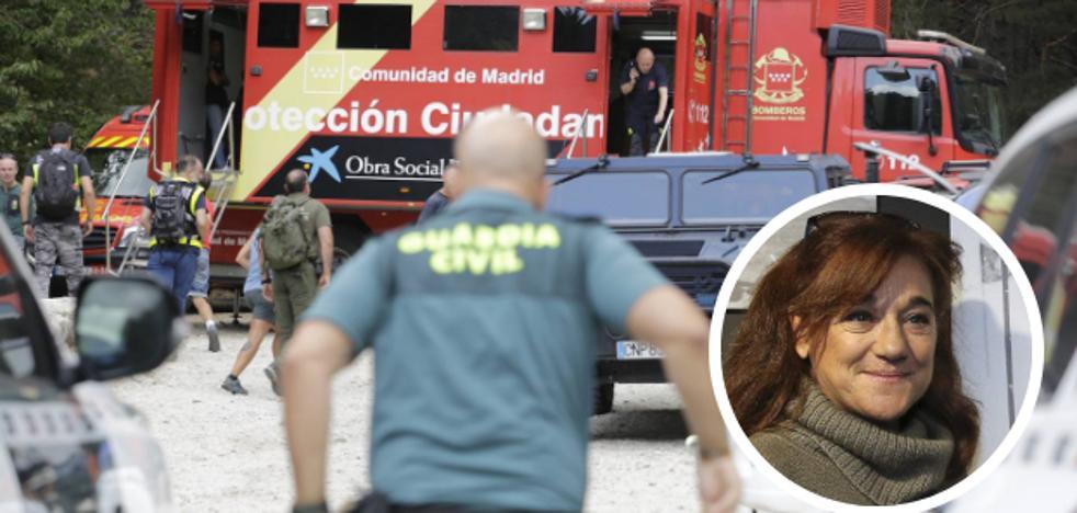 Un operativo «a largo plazo» para buscar a Blanca Fernández Ochoa en la sierra madrileña