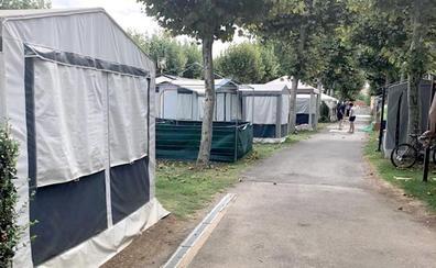 Sahagún trabaja contrarreloj para evitar el cierre de su camping durante dos años