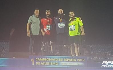 Dani Pardo repite en el podio de los Campeonatos de España