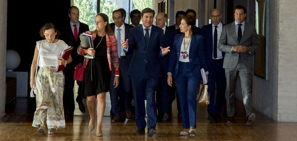 Carriedo anuncia planes para dinamizar Tierra de Campos, Ávila, la Demanda, Garoña, Medina del Campo y el este de Segovia
