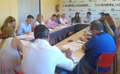 San Andrés dará luz verde a su presupuesto de 2019 en el pleno previsto para el próximo lunes