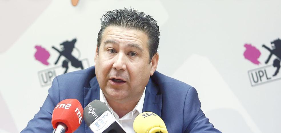 Luis Mariano Santos (UPL): «El PP se ha quitado la careta y el personaje también; si lo hacen saldremos a las calles»