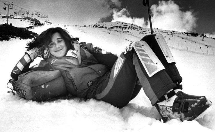 Blanca Fernández Ochoa más allá de la pistas de esquí