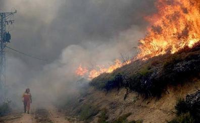 La Junta pide «extremar las precauciones» para evitar incendios ante el riesgo de propagación por fuertes vientos