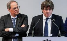 Puigdemont desafía a ERC con la amenaza de ser investido y descarta nuevas elecciones