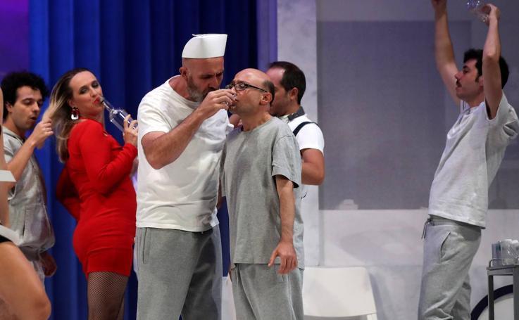 Jesús Vidal vuelve al teatro con 'Alguien voló sobre el nido del cuco'